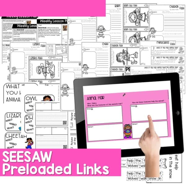 Seesaw Engaging Readers What If You Had Animal Series 7