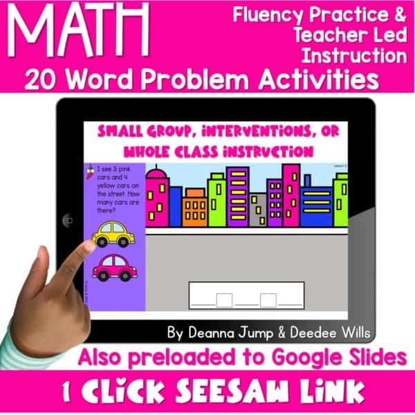Digital Math Activities Bundle 8