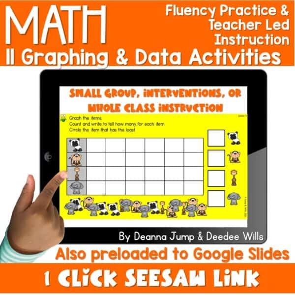 Digital Math Activities Bundle 10
