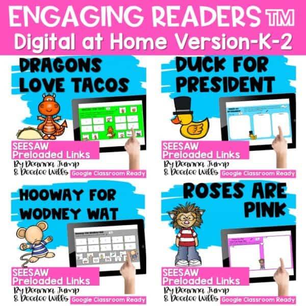Seesaw Engaging Readers Year Long Bundle 8