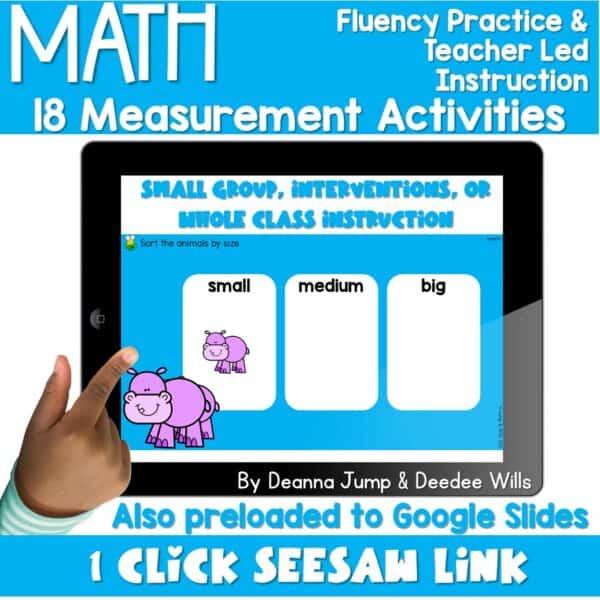 Digital Math Activities Bundle 11