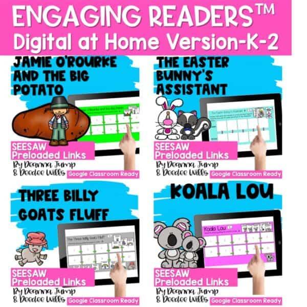 Seesaw Engaging Readers Year Long Bundle 9