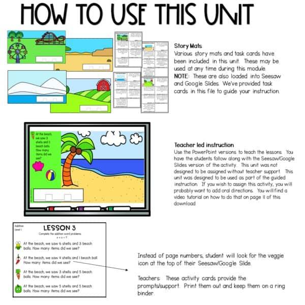 Digital Math Activities Bundle 9