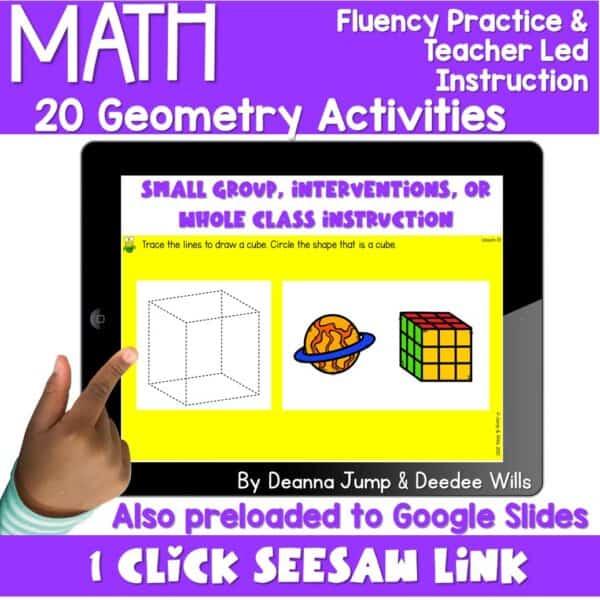 Digital Math Activities Bundle 12