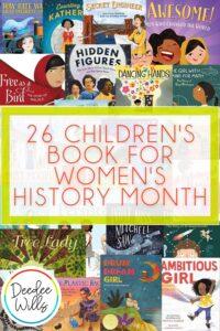 27 best childrens books for womens history