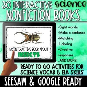 digital interactive science books