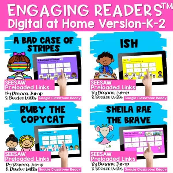 Seesaw Engaging Readers Year Long Bundle 12