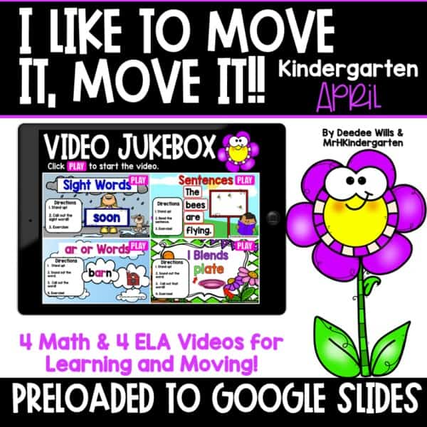 Movement and Learning for Classroom and Distance Learning | April 1