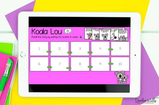 KINDERGARTEN LESSON PLANS: WEEK 27 Koala Lou 1