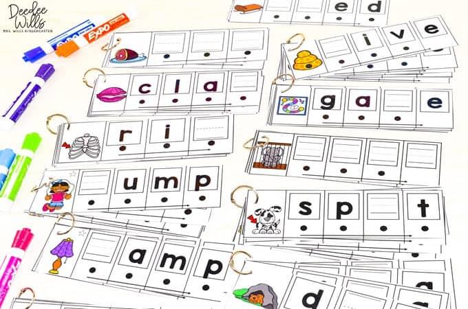 blending word activities