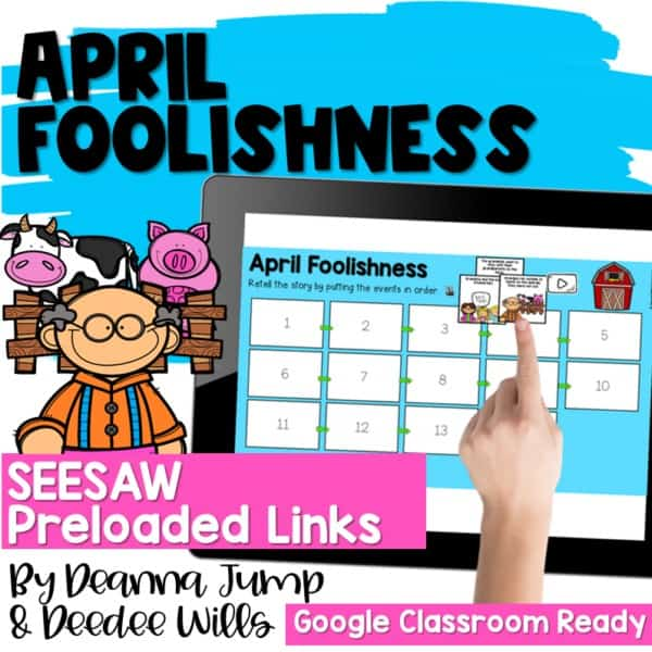 Seesaw Engaging Readers April Books 2