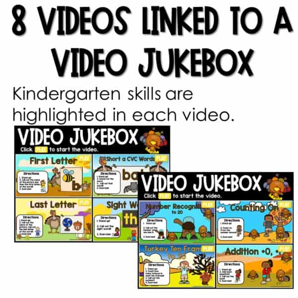 Movement and Learning for Classroom and Distance Learning   Bundle 2
