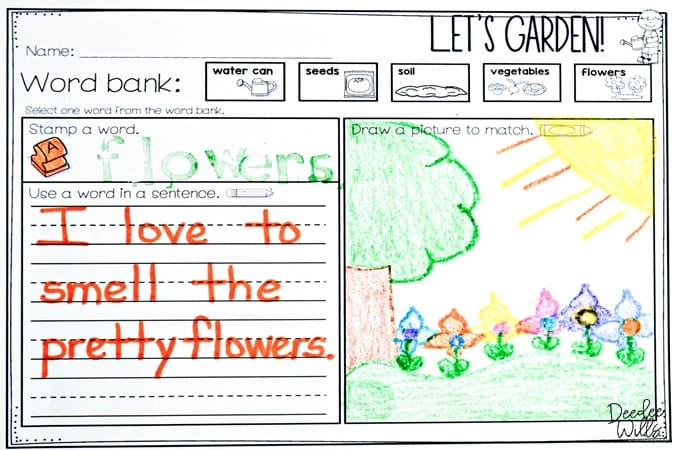 Learning about plants in your primary classroom can be so much fun! Here are a few ideas and lessons, plus a free file for you!