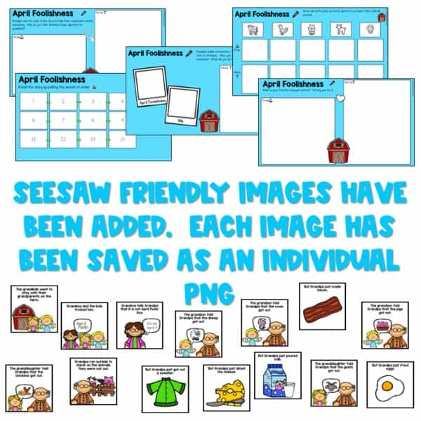 Seesaw Engaging Readers April Books 7