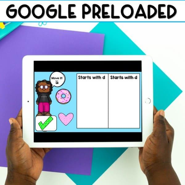 SEESAW & Google Classroom Digital Letter Practice 3