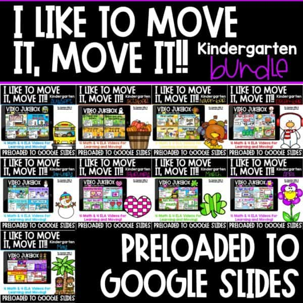 Movement and Learning for Classroom and Distance Learning | Bundle 1