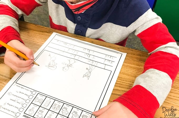 Writing in kindergarten is a fun and expressive time for students! Understand the importance of giving students choice in their writing with these writing center ideas.