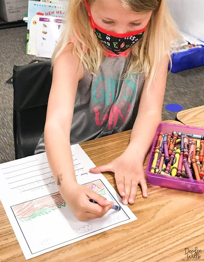 Writing in Kindergarten and the Importance of Student Choice 2