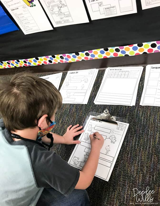 Writing in Kindergarten and the Importance of Student Choice 1