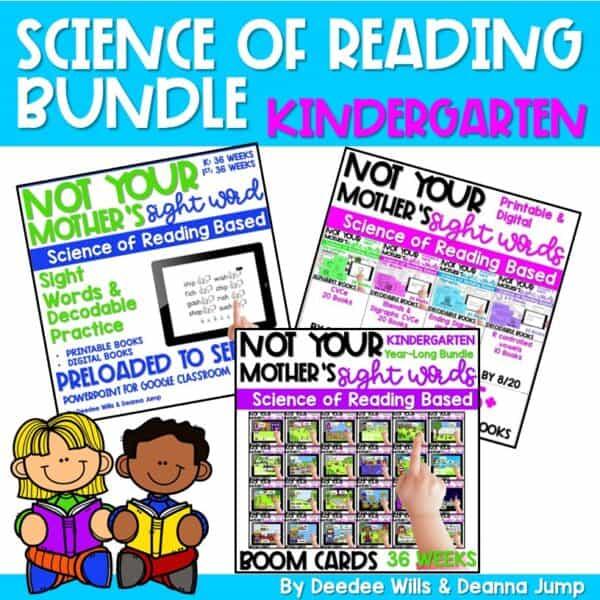 Science of Reading Webinar Bundle | Kindergarten 1