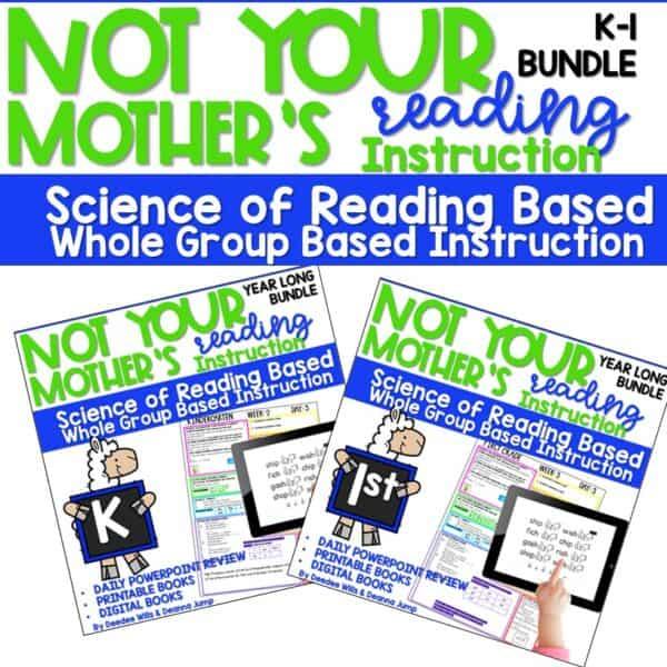 Science of Reading Webinar Bundle | Kindergarten 4