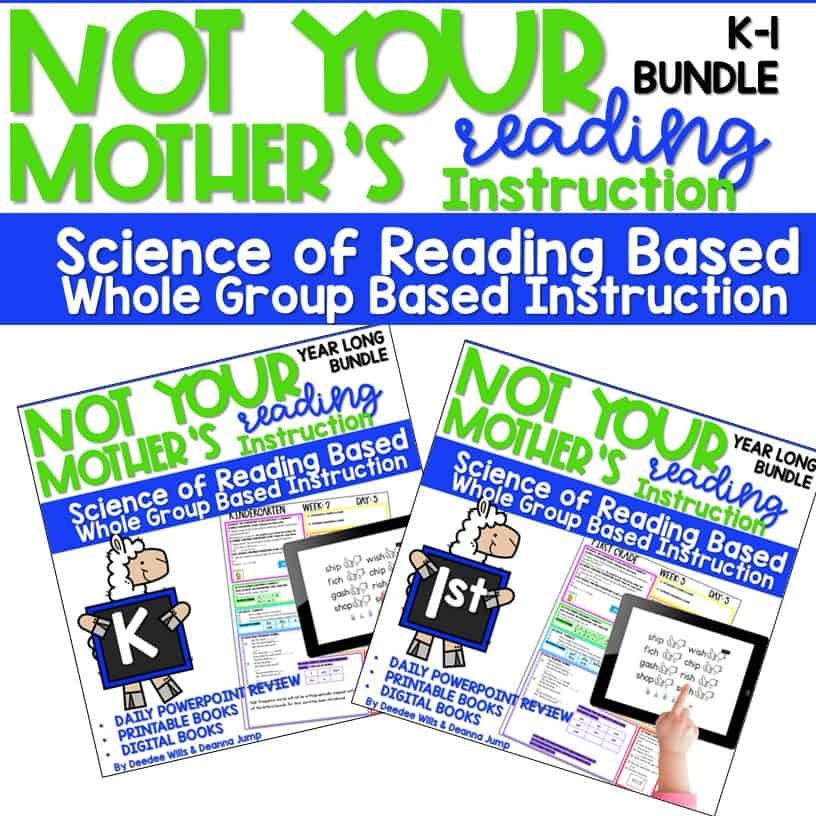 Science of Reading Not Your Mother's Sight Words | K & 1 7