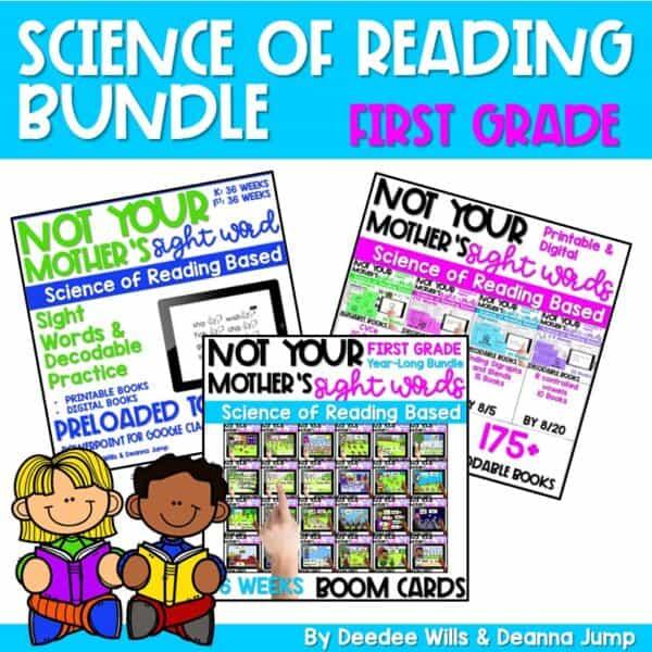 Science of Reading Webinar Bundle | First Grade 1