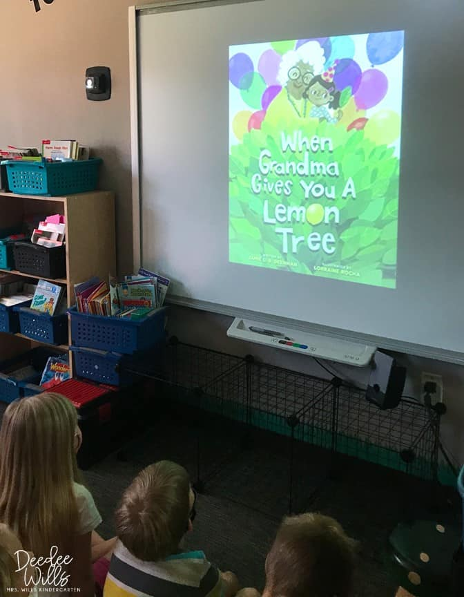 """Lessons Plans for """"When Grandma Gives You a Lemon Tree"""" by Jamie L. B. Deenihan are here! You will love this sweet story with these engaging, reading comprehension lesson plans."""