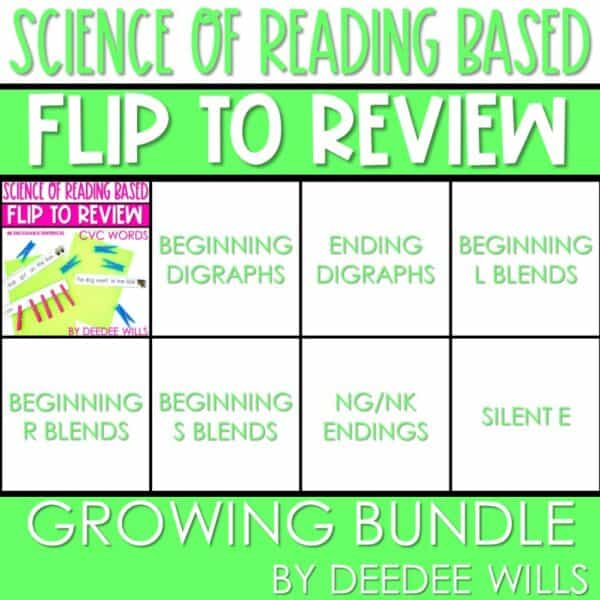 Science of Reading Small-Group Activities   Decodable Sentences   Growing Bundle 1