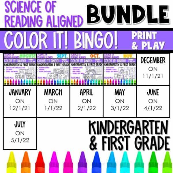Small-Group Activities | Bingo Games Growing Bundle 1