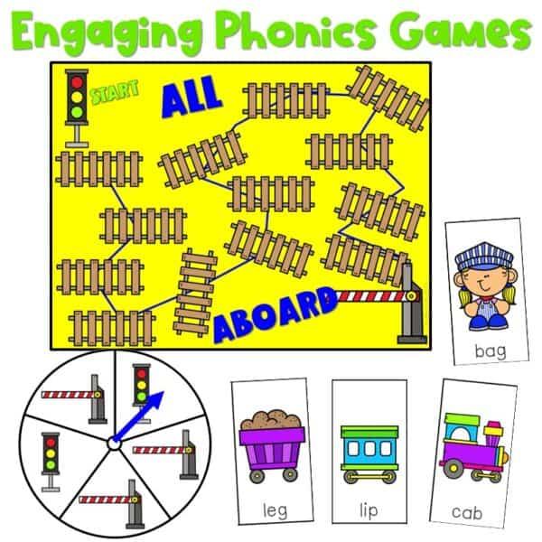 Science of Reading Board Games | Growing Bundle 2