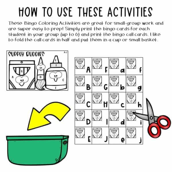 Small-Group Activities | Bingo Games Growing Bundle 2