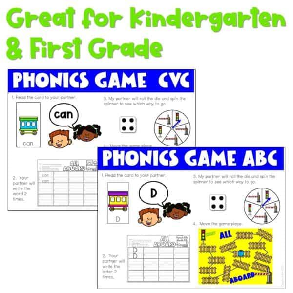 Science of Reading Board Games | Growing Bundle 3