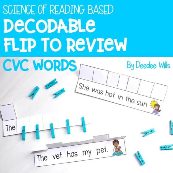 Science of Reading Small-Group Activities   Decodable Sentences   Growing Bundle 3
