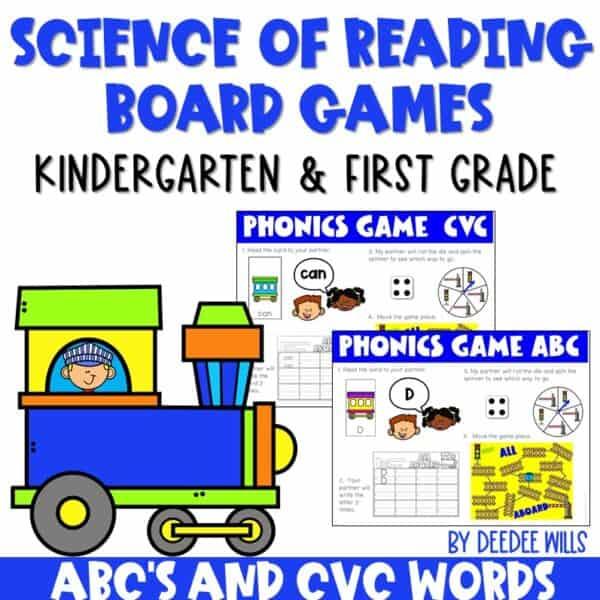 Science of Reading Board Games | Growing Bundle 4