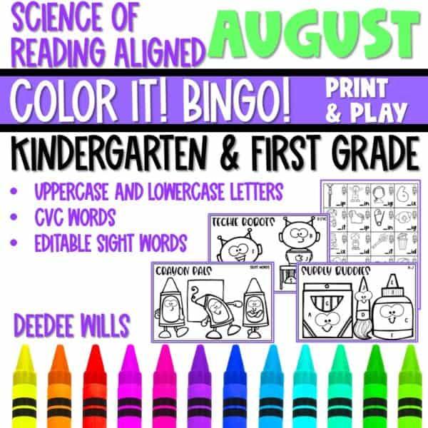 Small-Group Activities | Bingo Games Growing Bundle 4