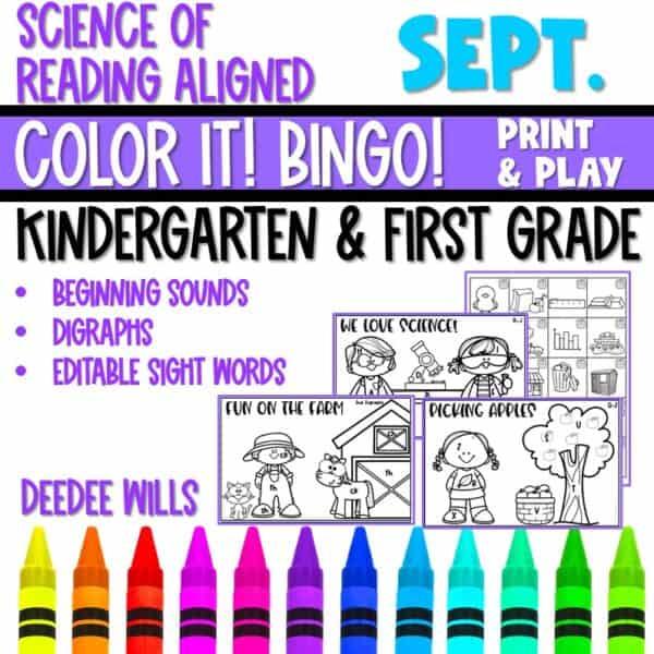 Small-Group Activities | Bingo Games Growing Bundle 5