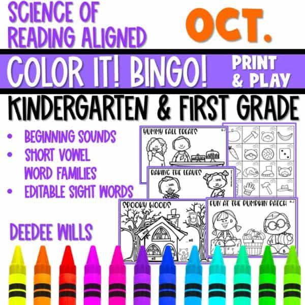 Small-Group Activities | Bingo Games Growing Bundle 6