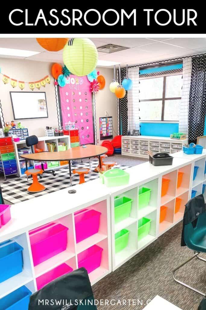 Classroom Tour and Design Ideas