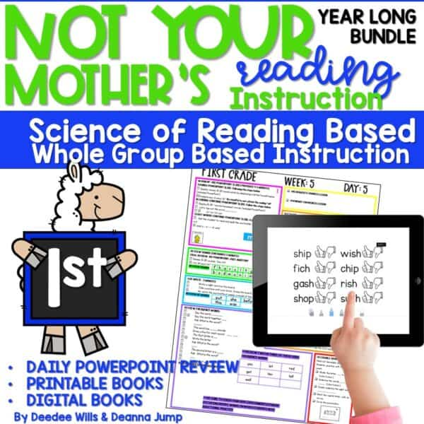 Science of Reading Based Sight Word Instruction   First Grade 1