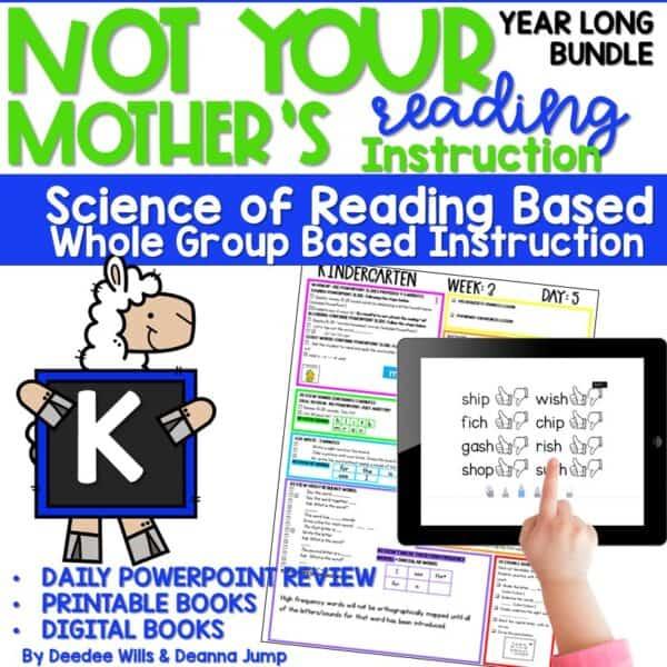 Science of Reading Based Sight Word Instruction   Kindergarten 1